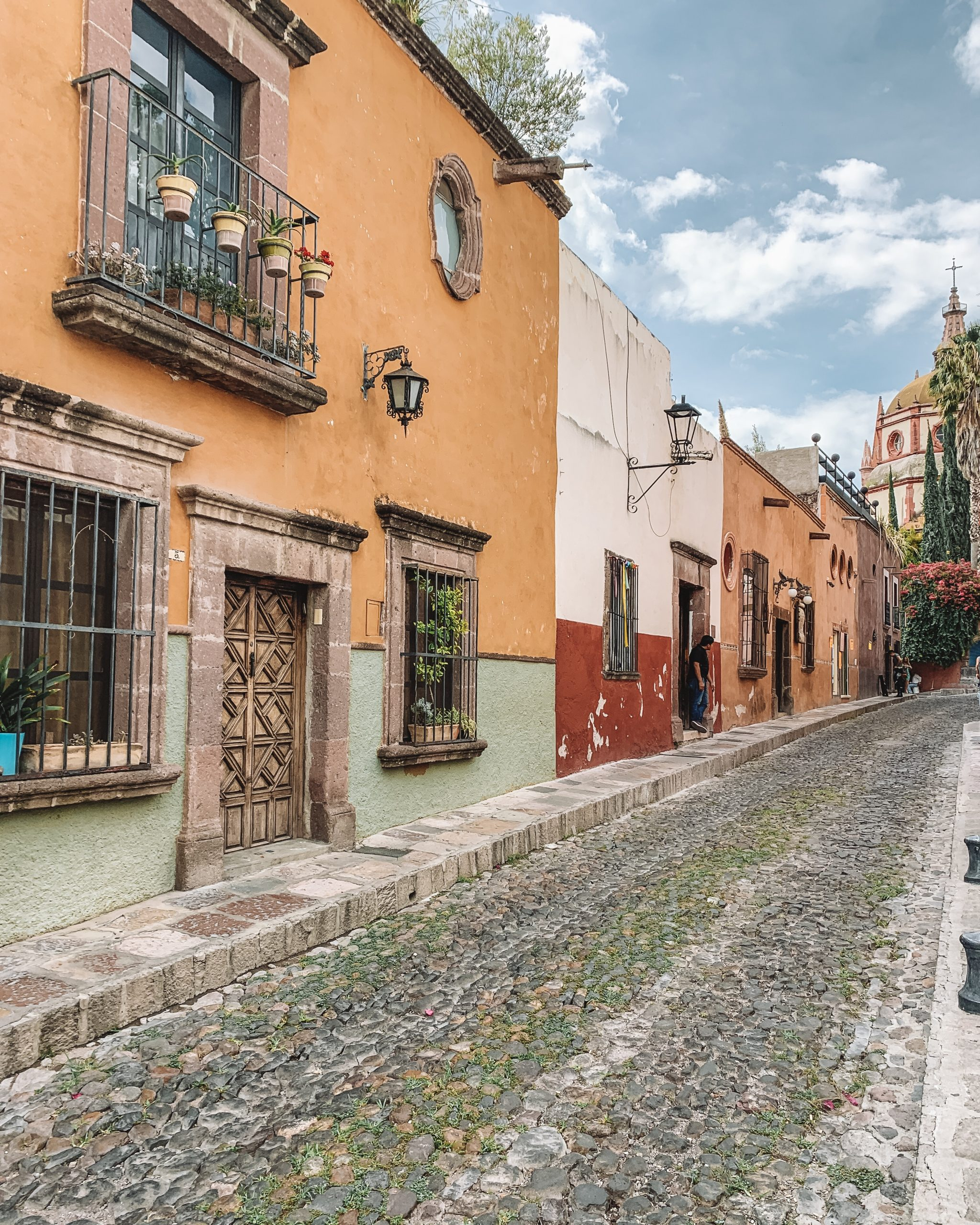 Colorful streets of san miguel