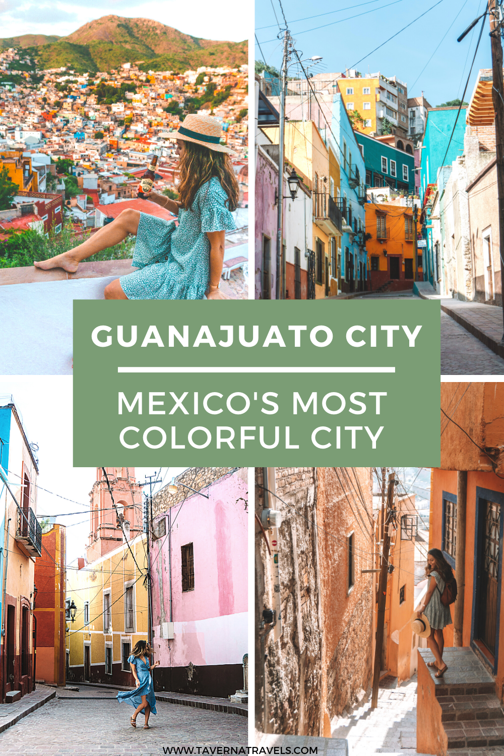 Exploring Mexico's Most Colorful City: Guanajuato City pin