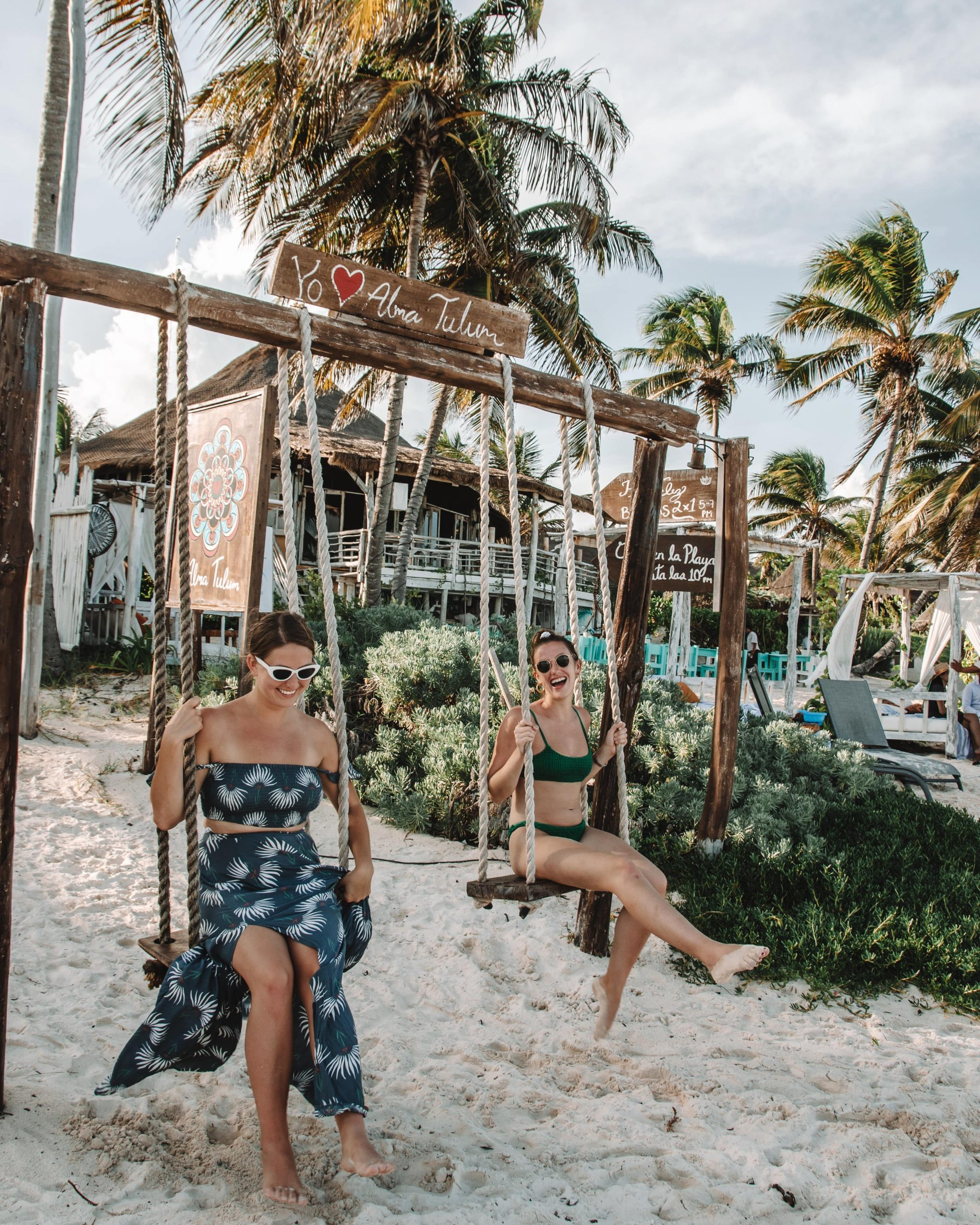 Group trip for solo female travelers in Tulum Mexico