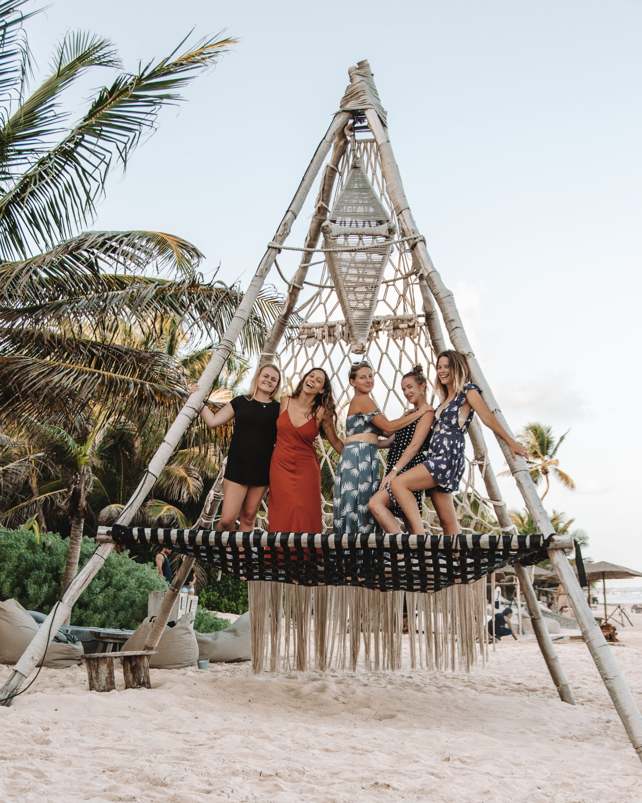 Taverna Trips group trip in Tulum Mexico