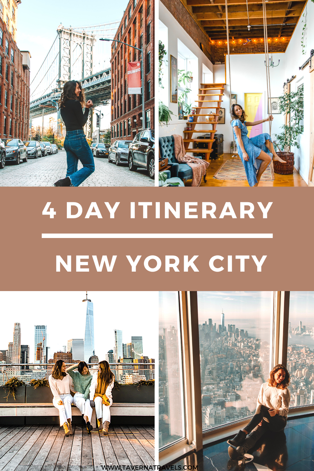 4 Days in New York City Itinerary