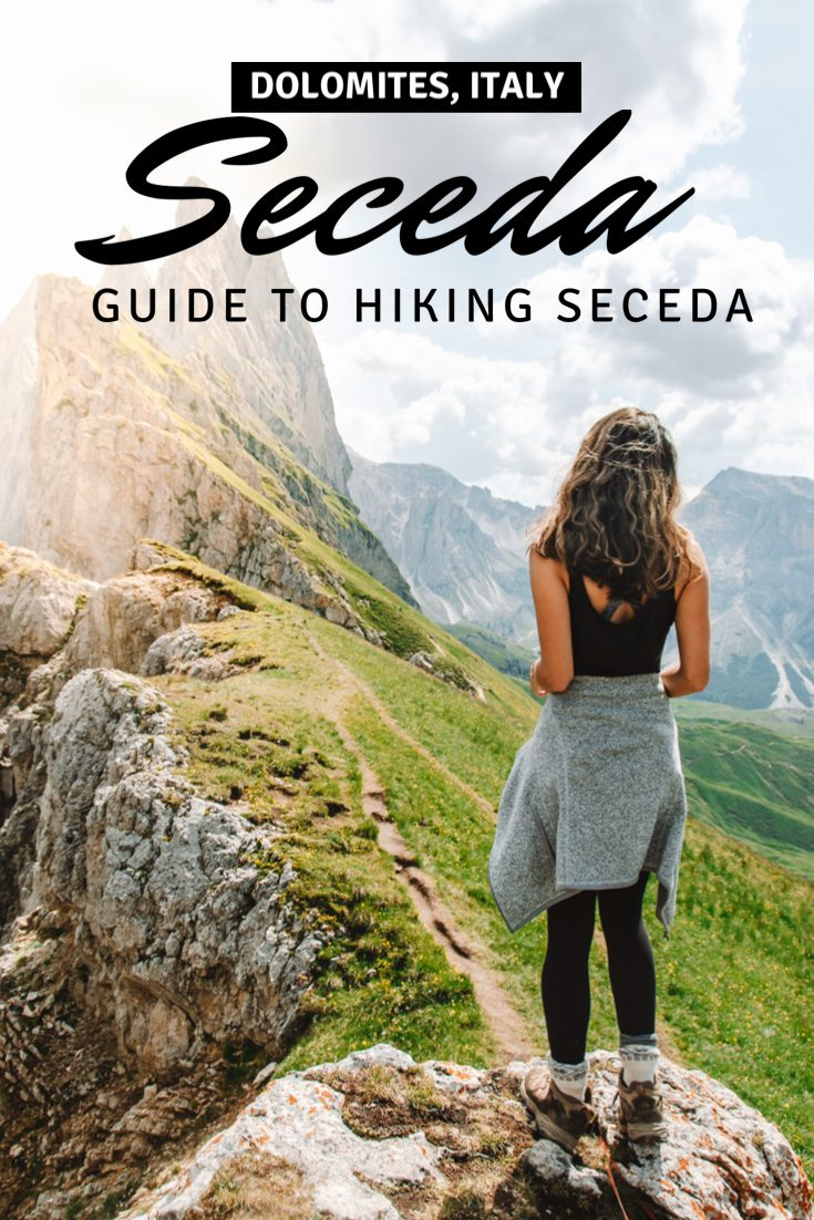 A guide to hiking in Seceda, Dolomites in South Tyrol, Italy