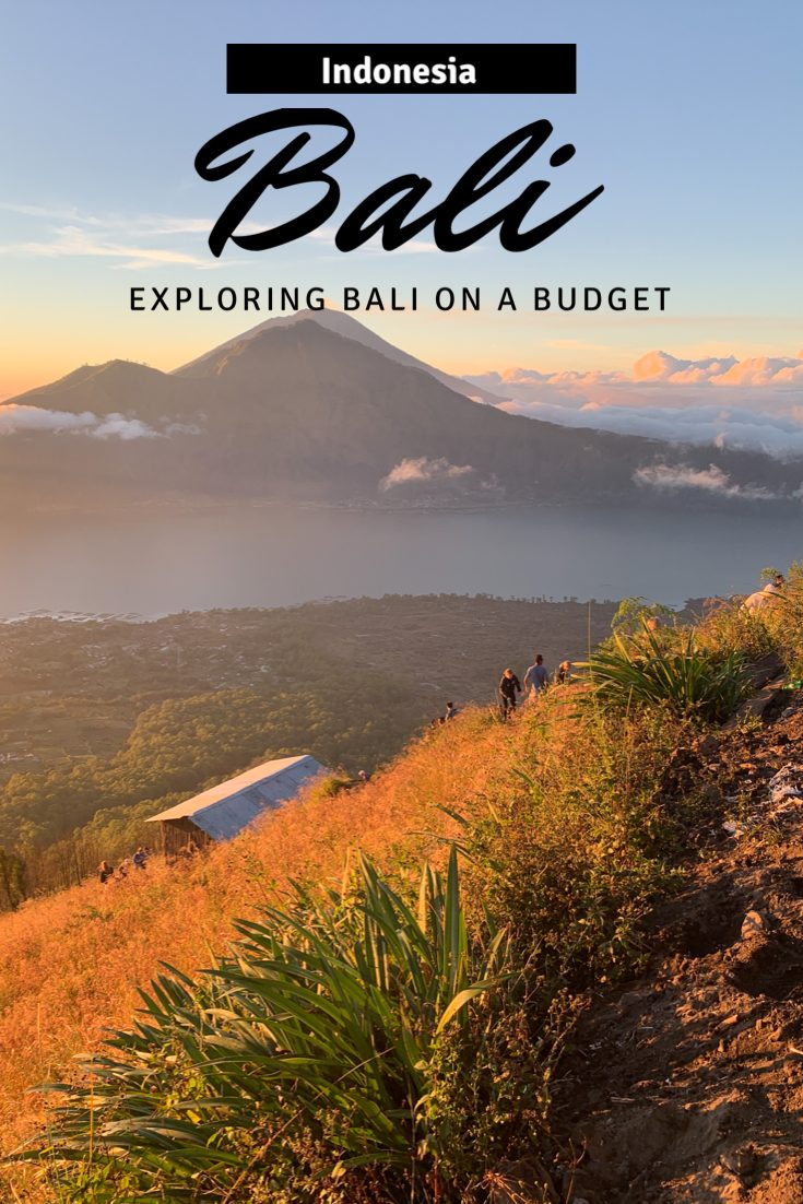 exploring bali on a budget