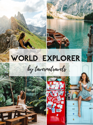 tavernatravels lightroom World Explorer presets