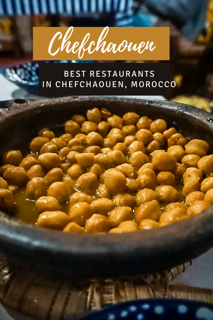 Best Restaurants in Chefchaouen, Morocco pin