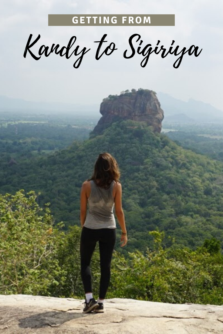 Getting from Kandy to Sigiriya pin