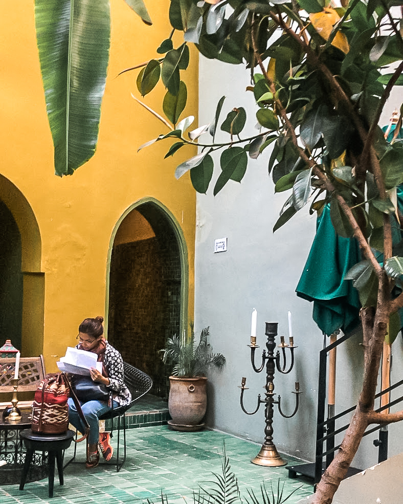 le jardin restaurant in marrakech