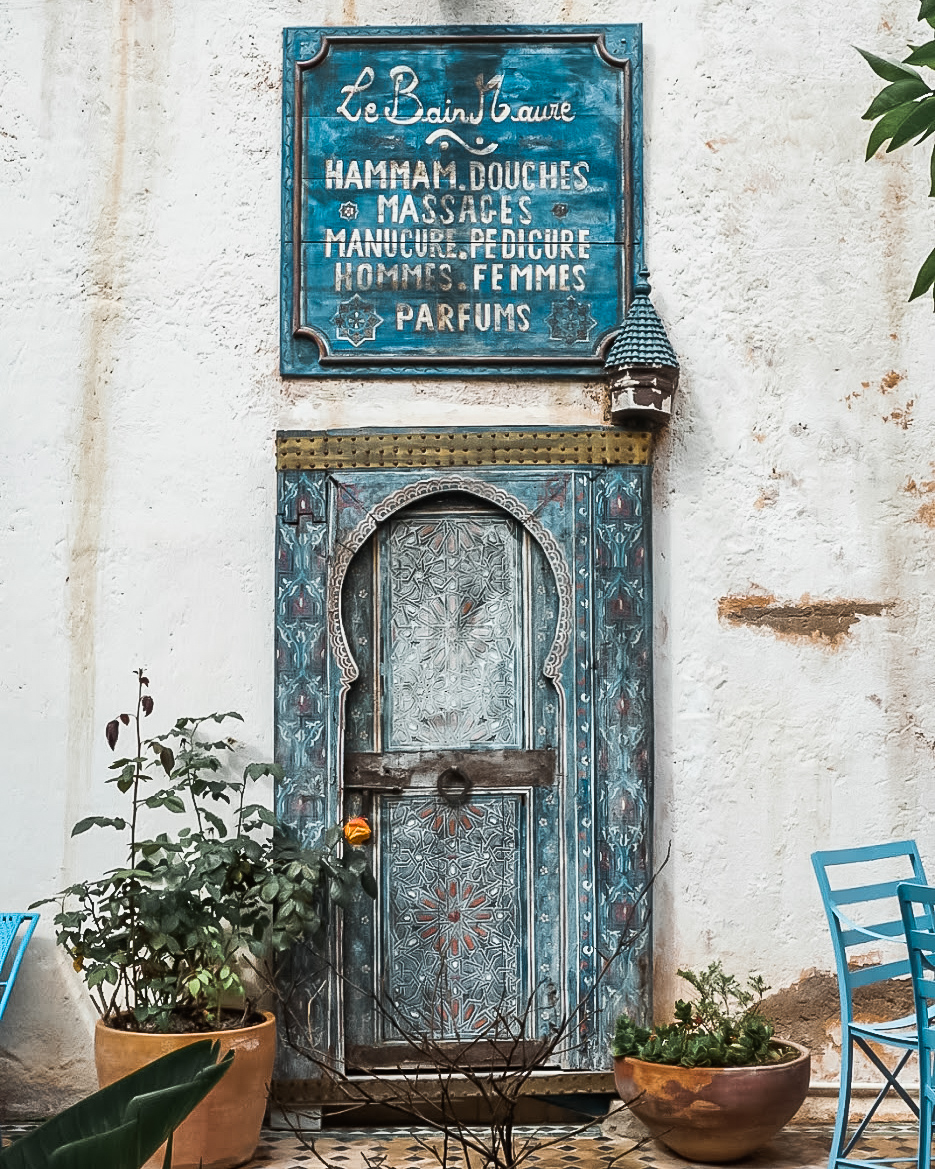 local hammam on morocco itinerary