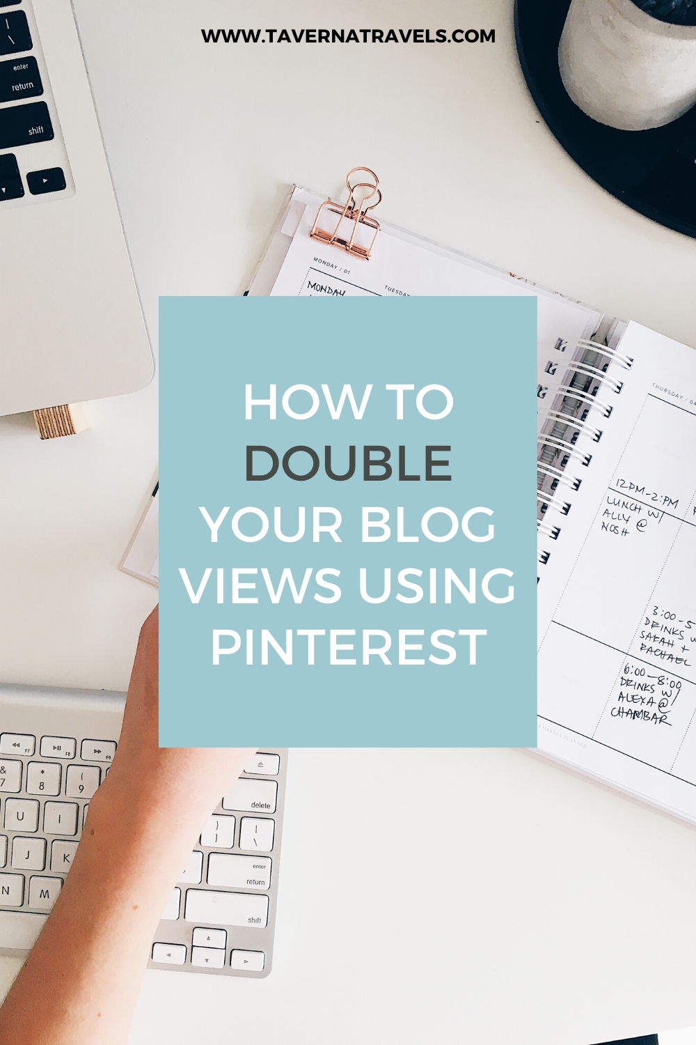 how to use pinterest to grow your blog pin