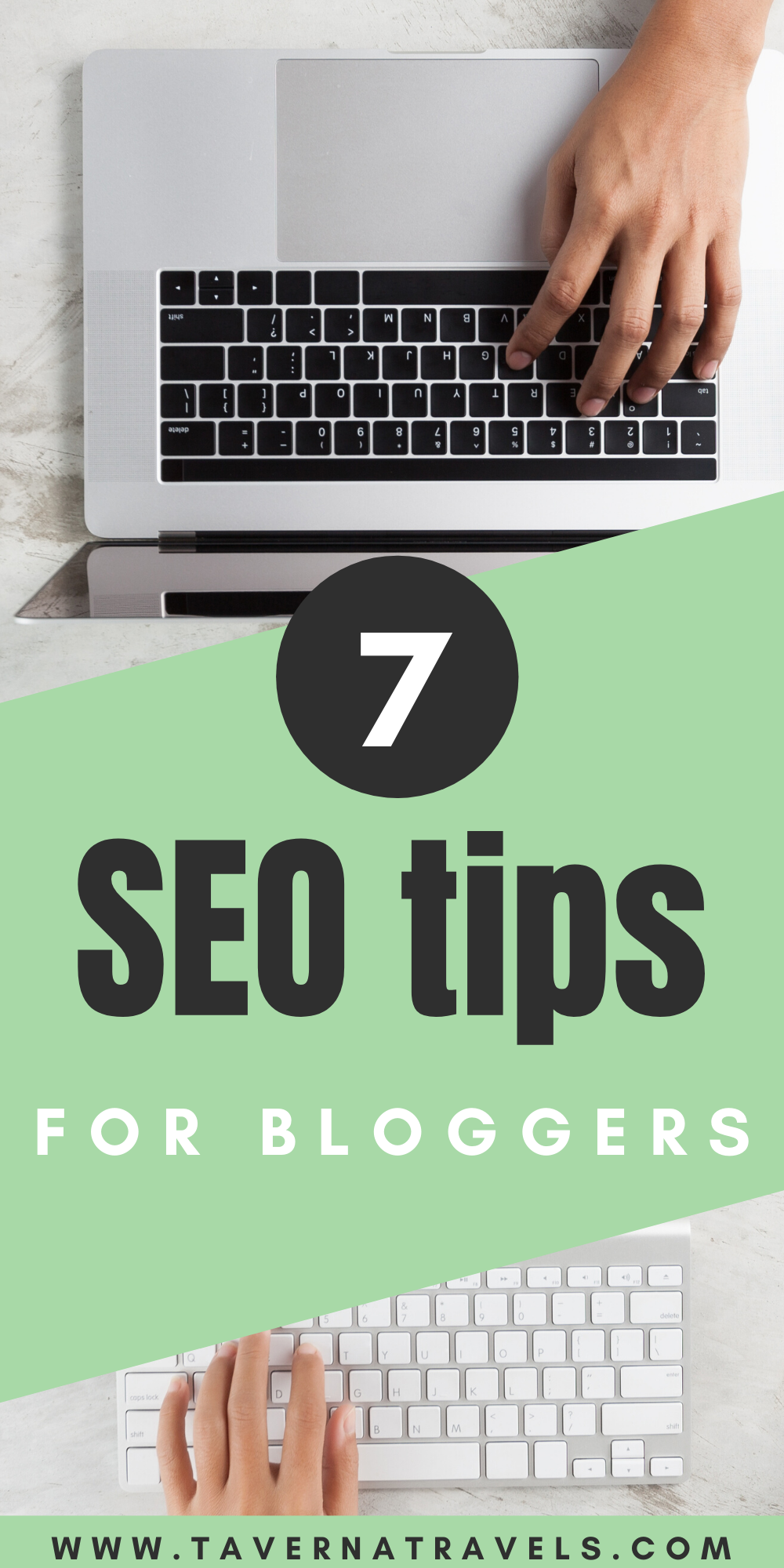 7 seo tips for travel blogs pin