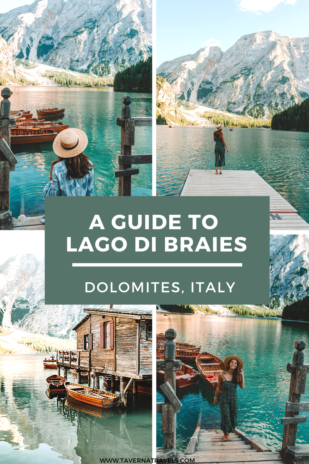 A Guide to Visiting Lago di Braies, Italy pin