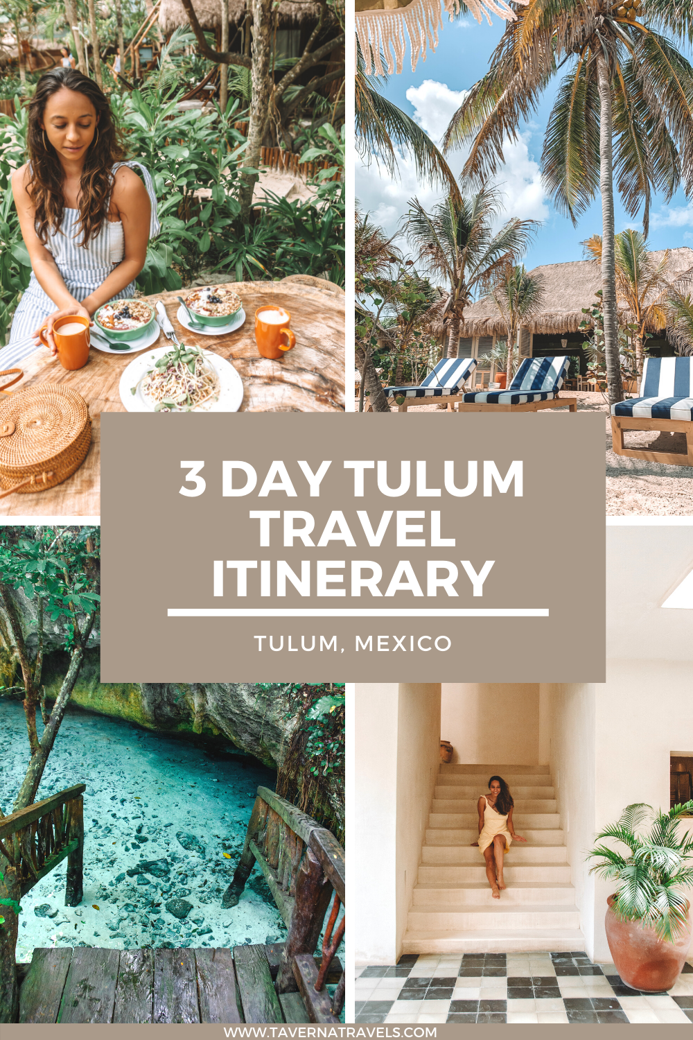 The Ultimate Tulum Itinerary pin