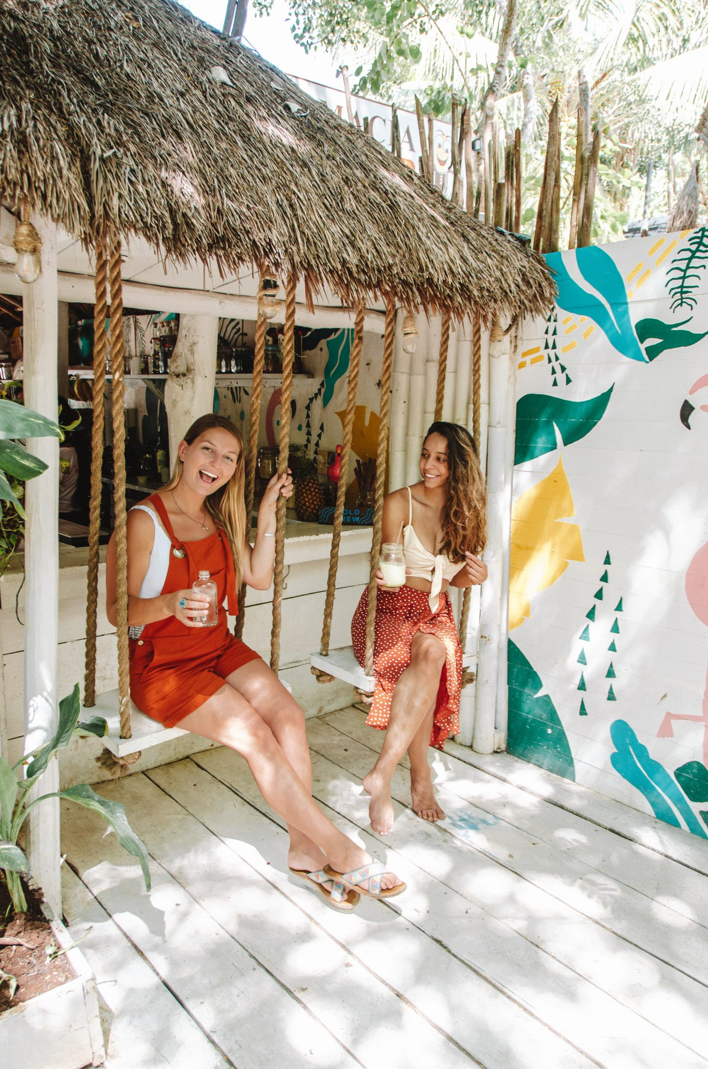 tulum's most instagrammable places - matcha mama