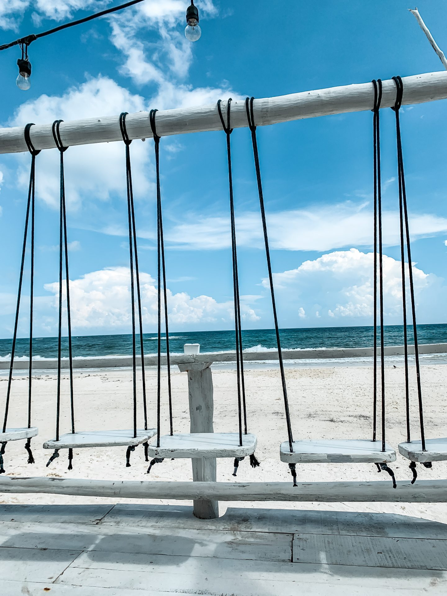 beachfront swings tulum