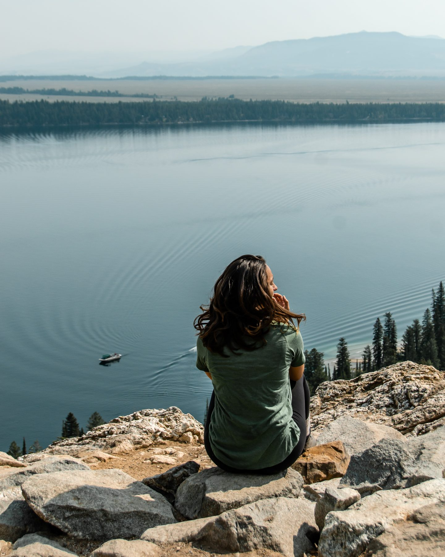 inspiration point in grand tetons