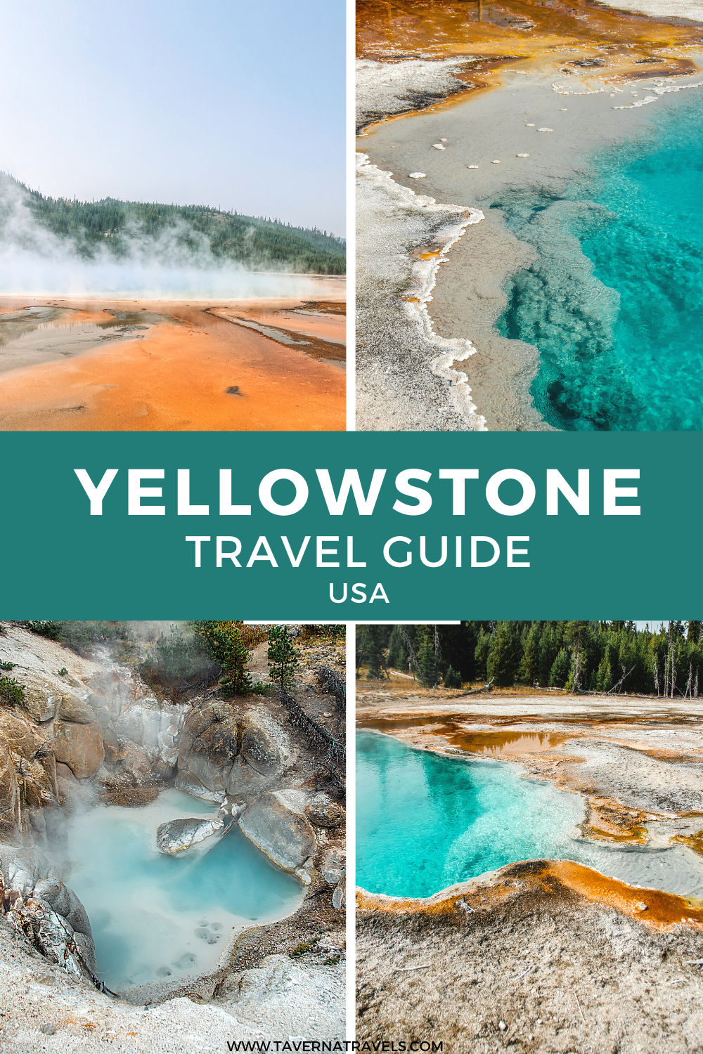 Yellowstone National Park Itinerary: The Best Things to do in Yellowstone pin