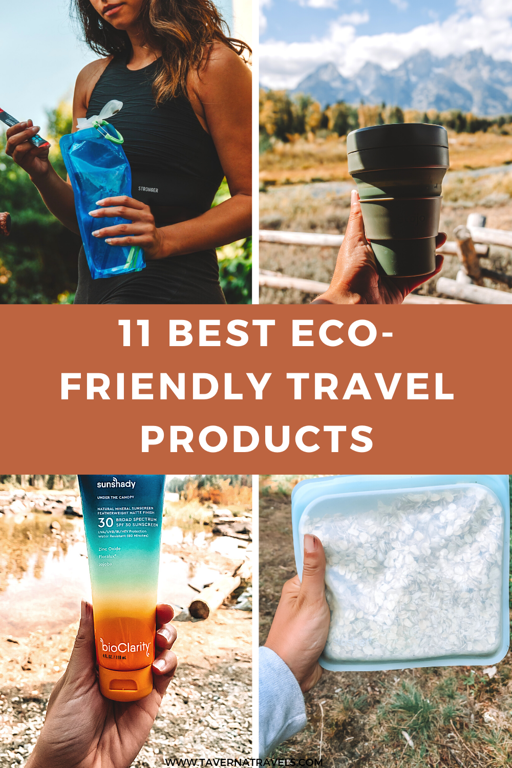 11 Best Eco-Friendly Travel Products pin