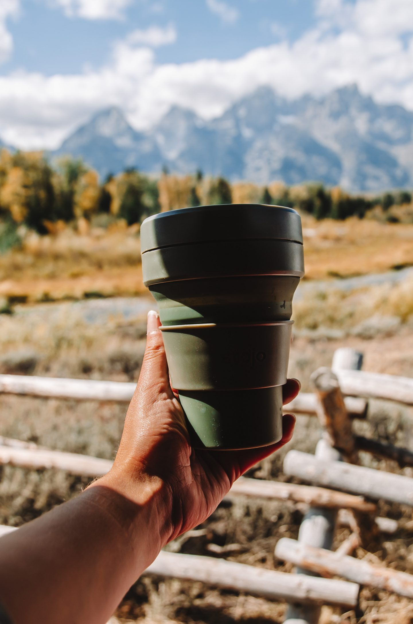 eco-friendly travel mug by stojo