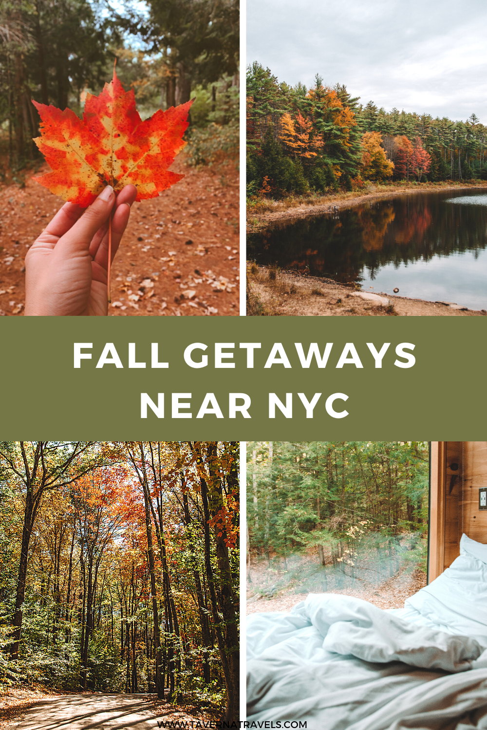 a guide to the best fall getaways near nyc pin