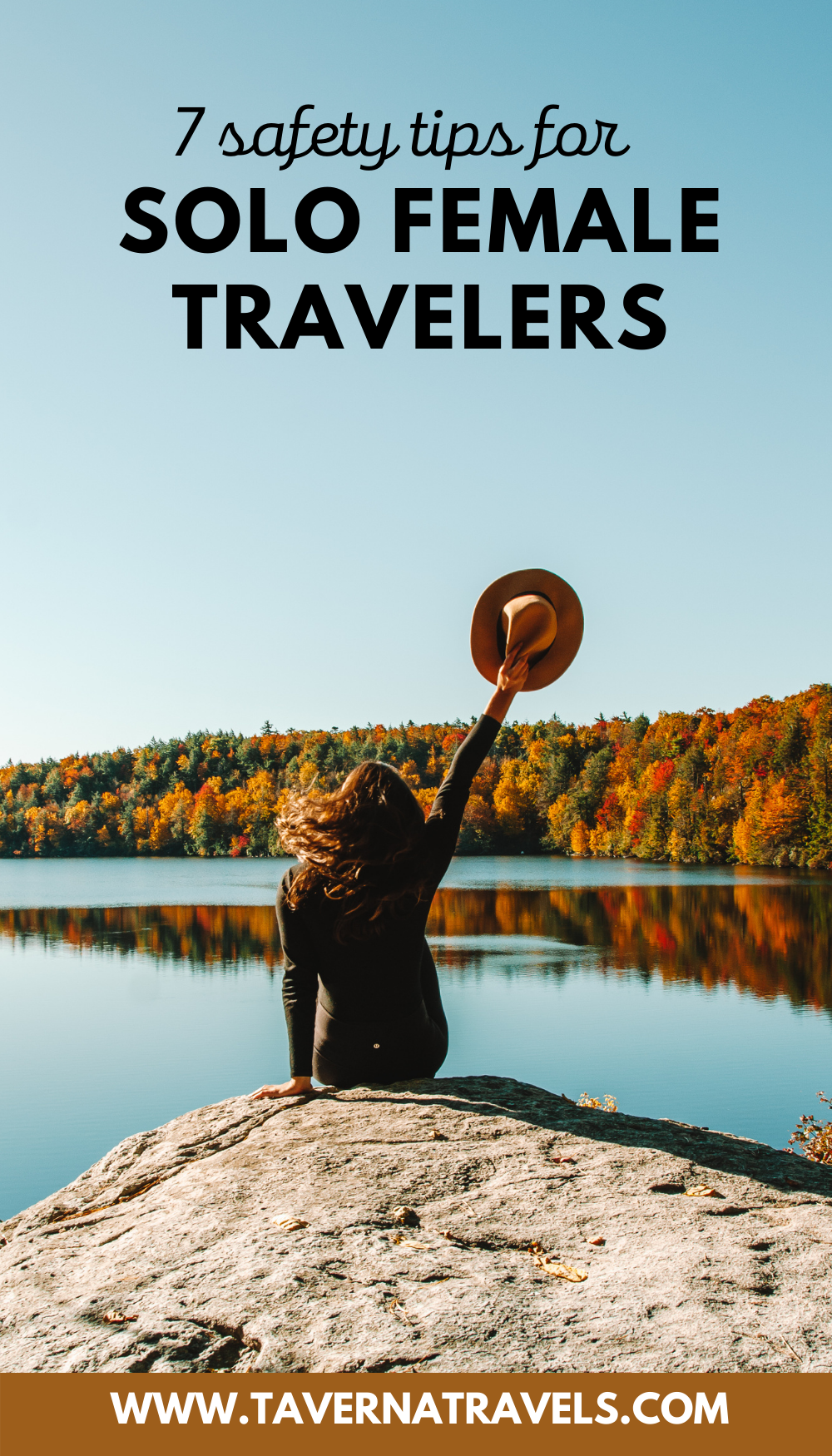 7 Smart Solo Female Traveler Safety Tips pins