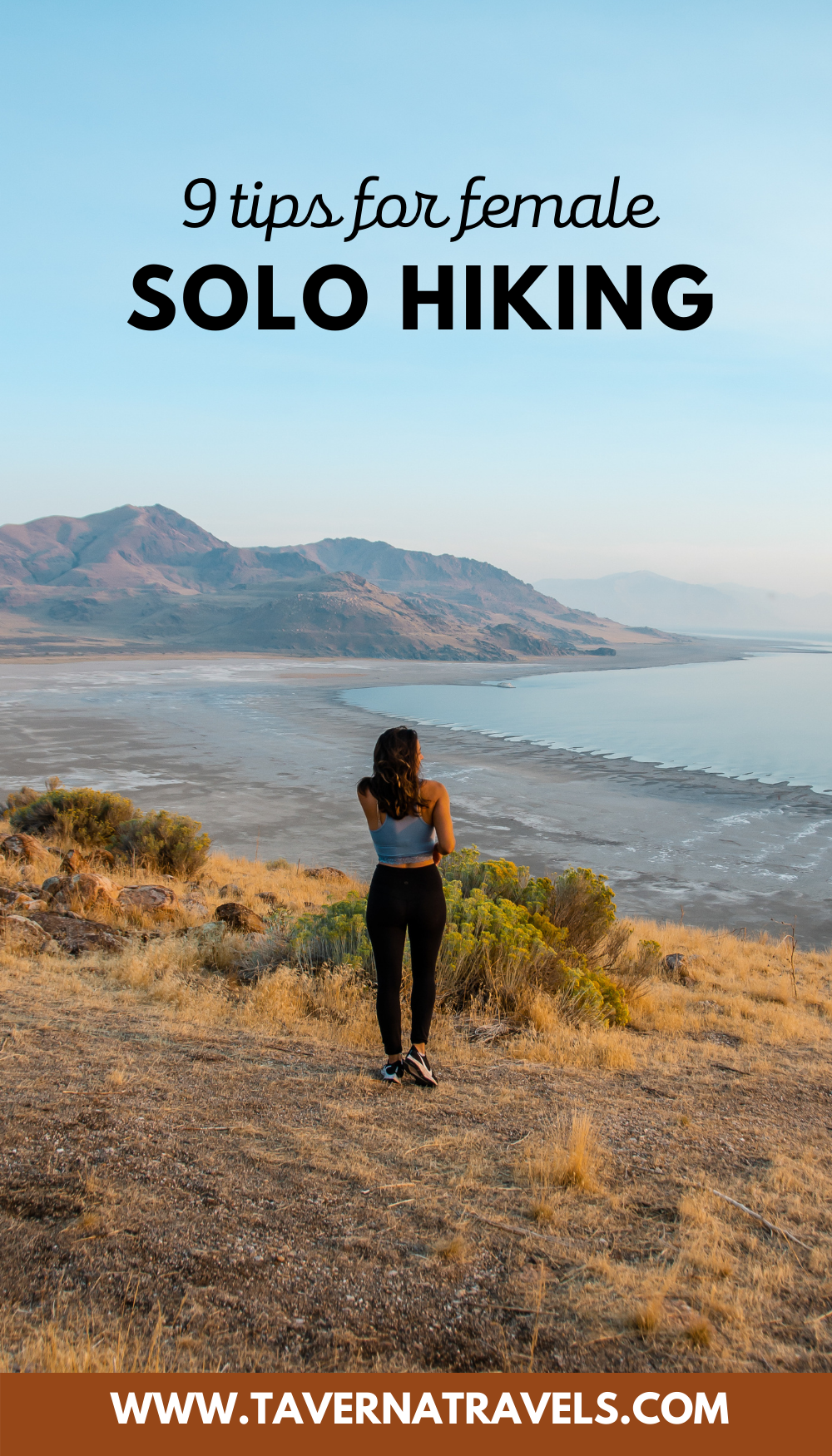 Solo Hiking: 9 Hiking Tips for Female Travelers pin