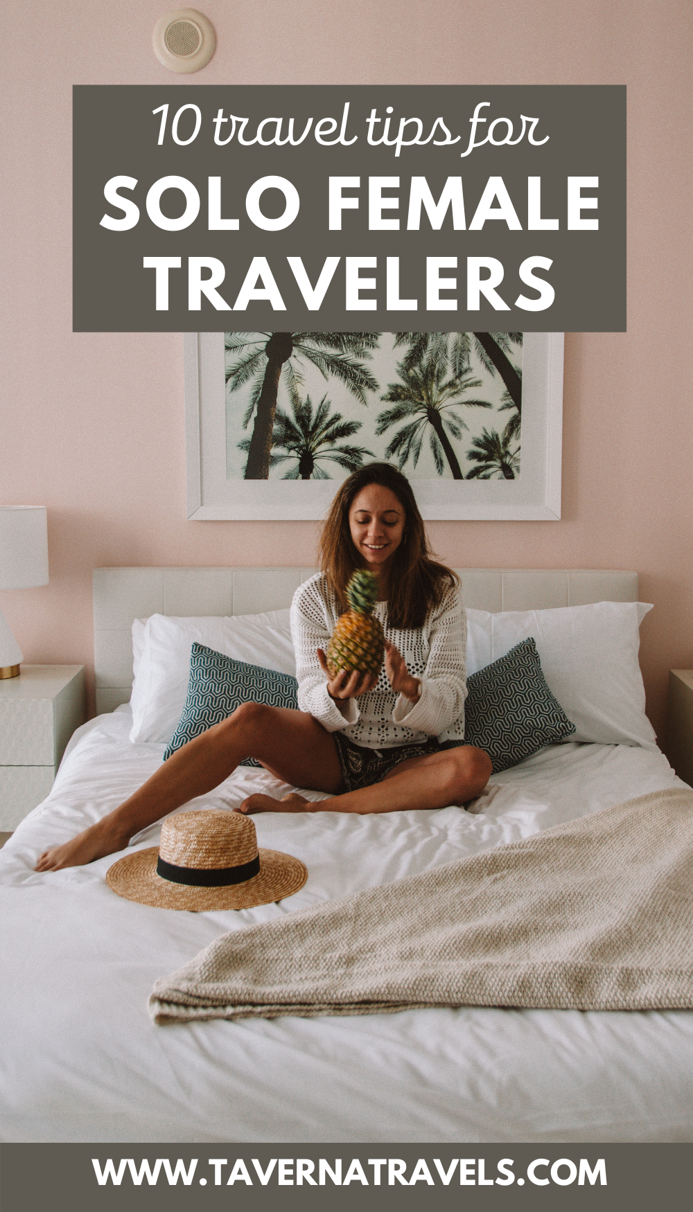 Top Tips for Solo Traveling as a Female pin