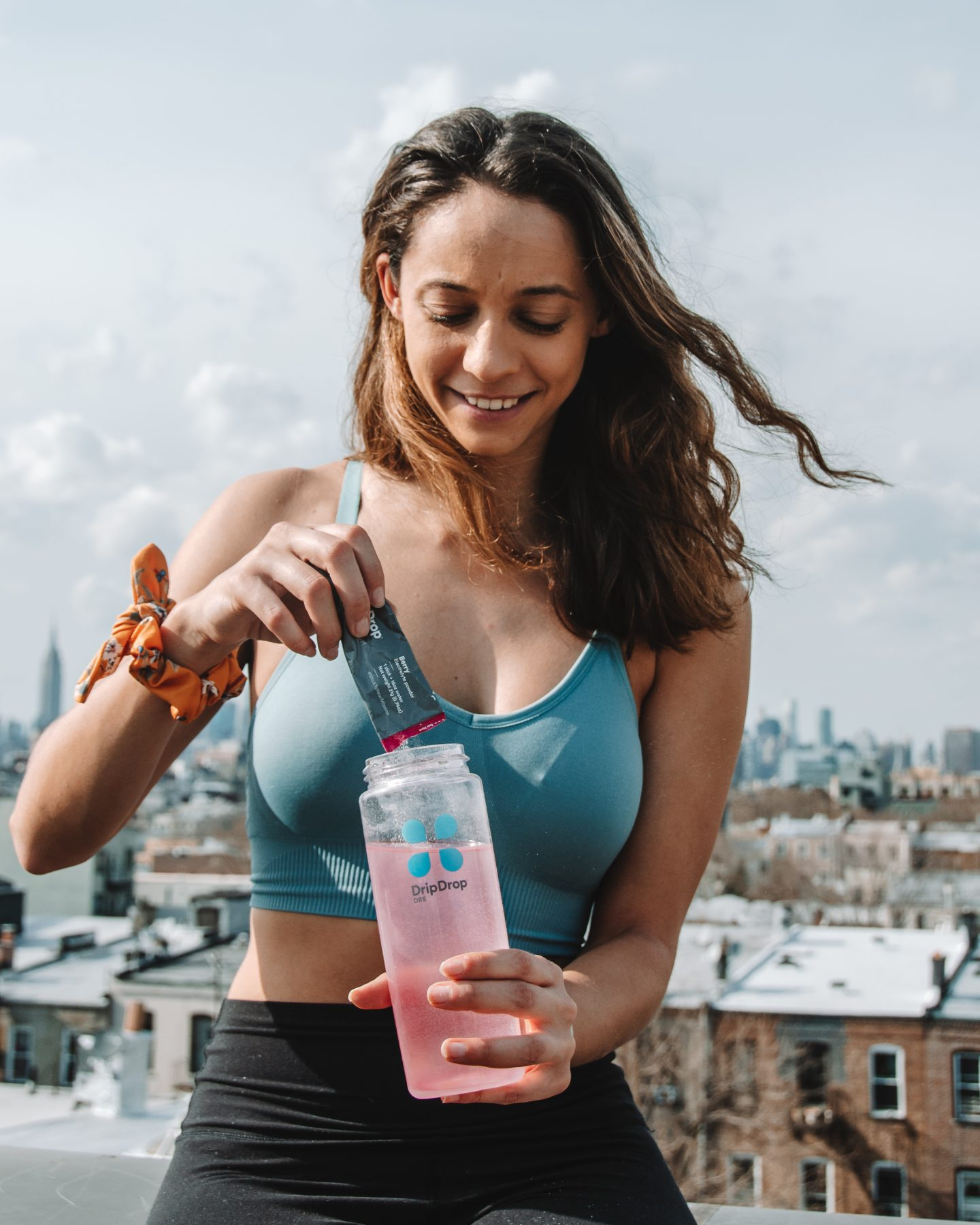 stay hydrated with dripdrop while traveling