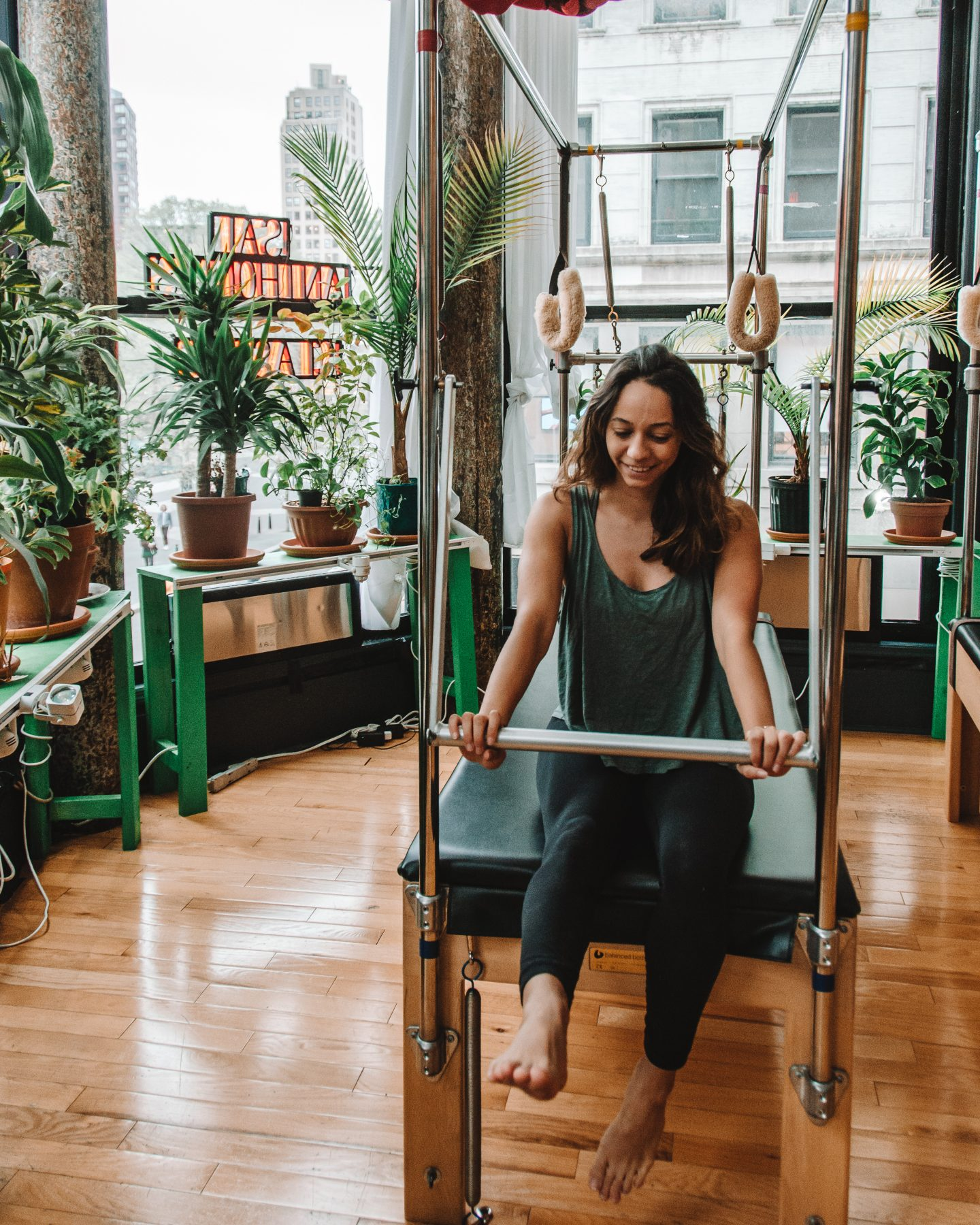 taking classpass classes to stay healthy while traveling