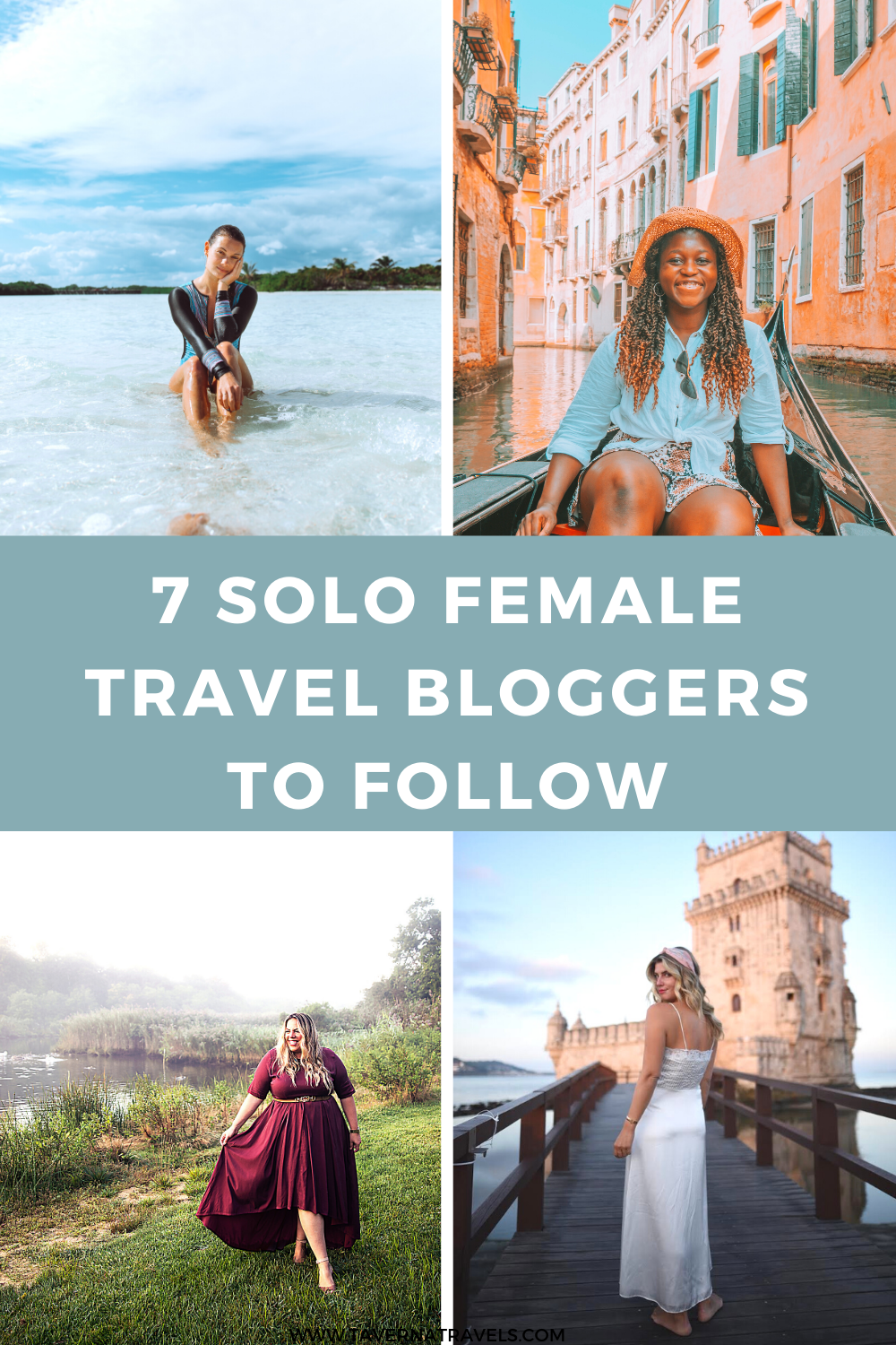 7 best solo female travel bloggers pin
