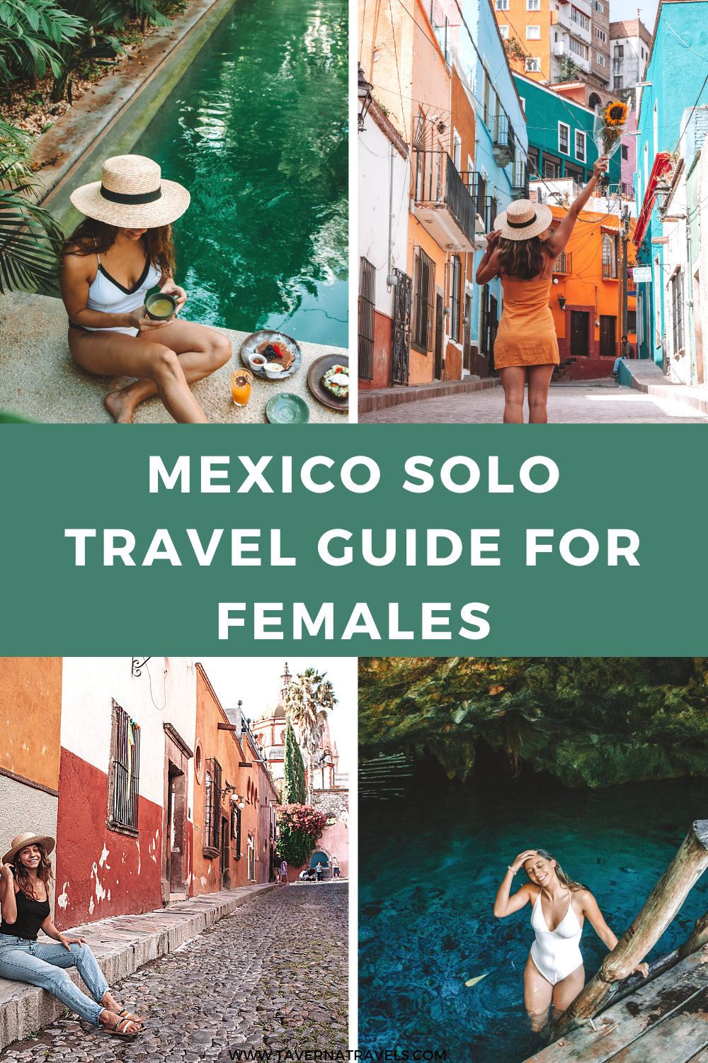 A Guide to Mexico Solo Travel pin