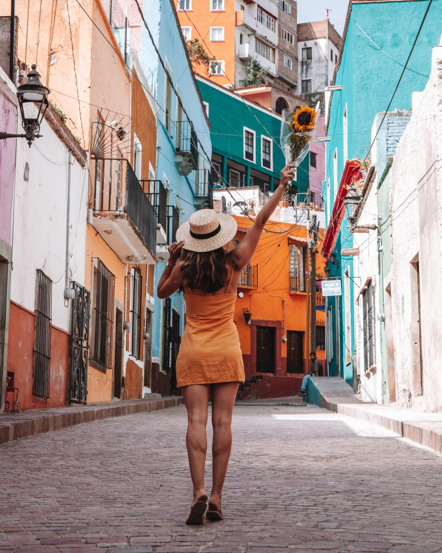 colorful streets of Guanajuato
