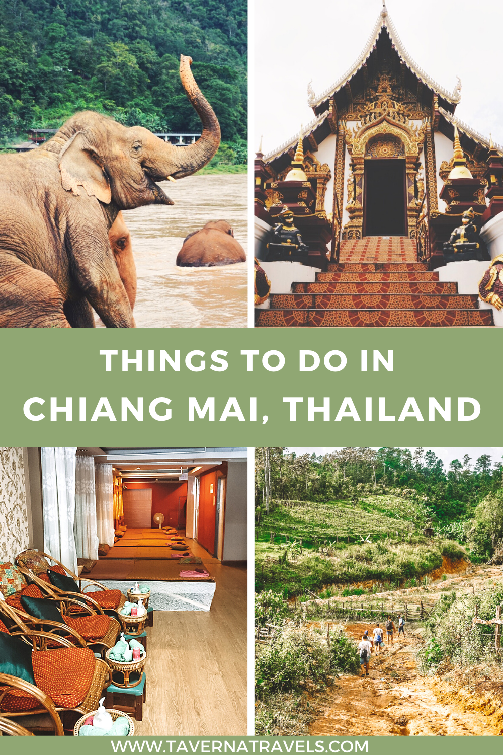 Top Things to do in Chiang Mai, Thailand  pin