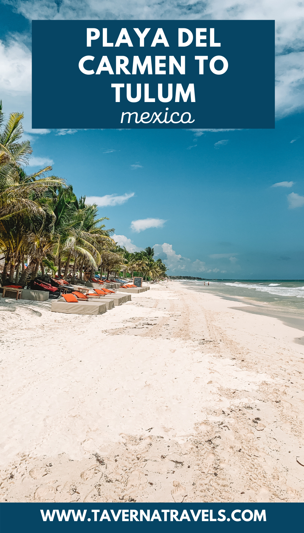 Getting from Playa del Carmen to Tulum pin