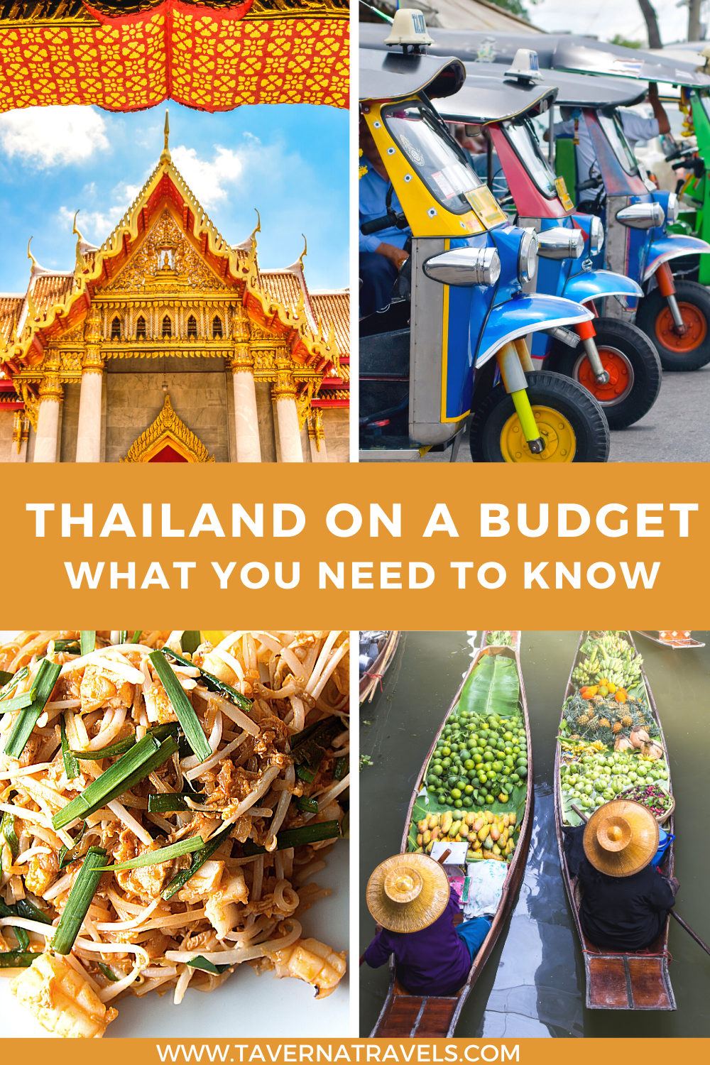 Planning a Trip to Thailand on a Budget pin