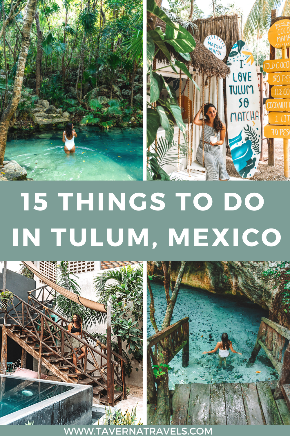 15 things to do in tulum, mexico pin