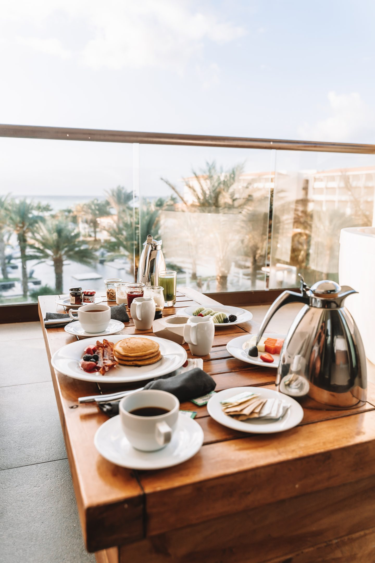 room service breakfast at all-inclusive in mexico